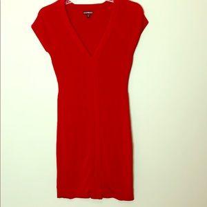 Express Red Bandage Dress
